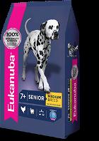 Alimentos Premium - Eukanuba senior razas medianas 15kg